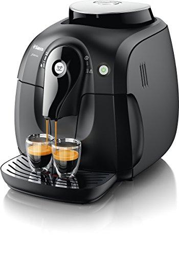 Cafetera automática espresso Saeco Xsmall con espumador de leche clási