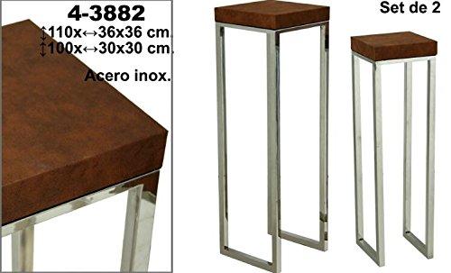 Set de 2 pedestales