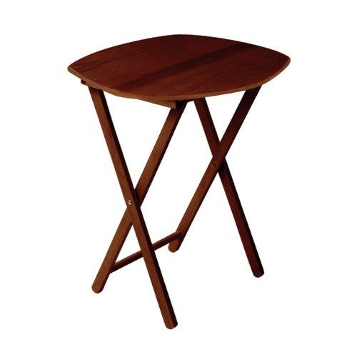 Juego de 2 mesas auxiliares plegables (madera de c... Ocasión