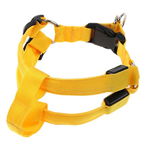 Anself LED Collar de perros arnés de mascotas para..