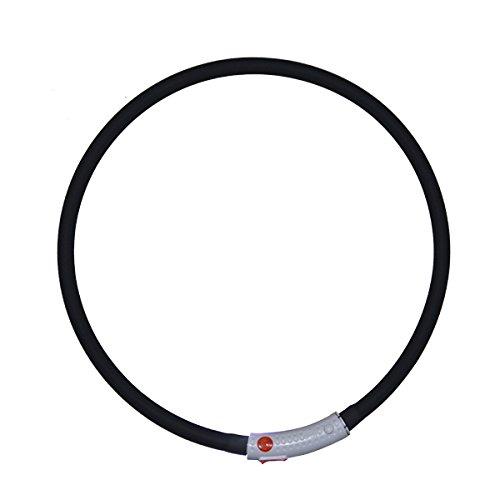 Silicón del collar LED USB collar de perro luminos... Saldo
