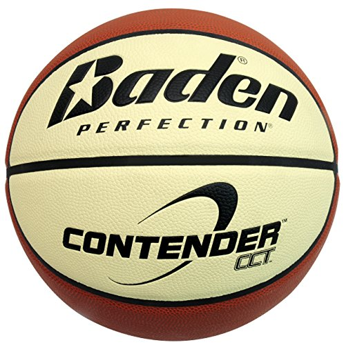 Pelota de baloncesto (talla 7), color marrón y beige Talla:Size 7. Sal