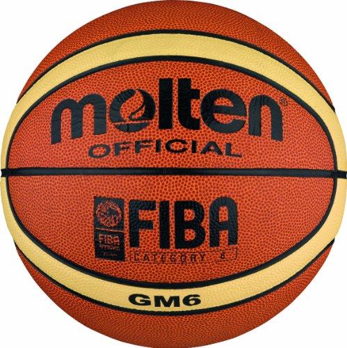 Pelota de baloncesto, color naranja / crema con descuento