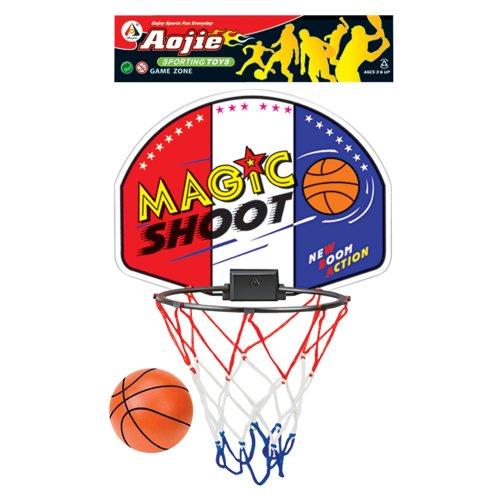 Set de canasta y pelota de baloncesto (801839). Saldo