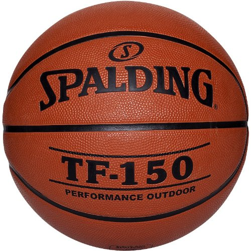 Pelota de baloncesto ( cuero, talla 5, juego ), color naranja, talla 5