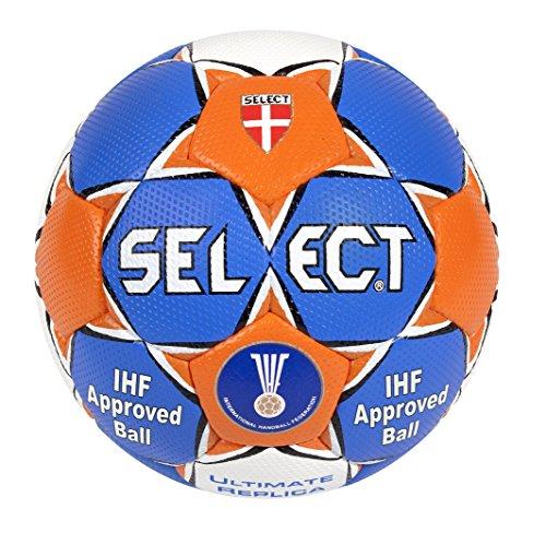 Balón de balonmano azul Blau/Orange/Weiß Talla:1 con descuento
