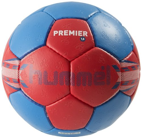 Balón de balonmano para adulto multicolor Red/Blue Talla:1 con descuen
