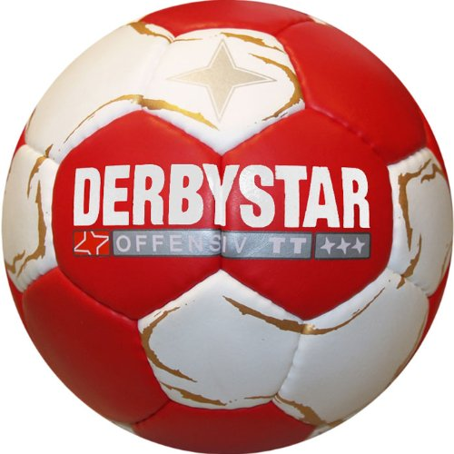 Balón de balonmano rojo rojo / blanco Talla:2. Saldo