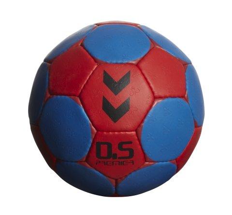 Balón de balonmano multicolor red/true blue Talla:2. Oferta