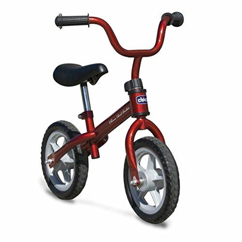 Bicicleta sin pedales con sillin regulable para edades de 3 a 5 años (