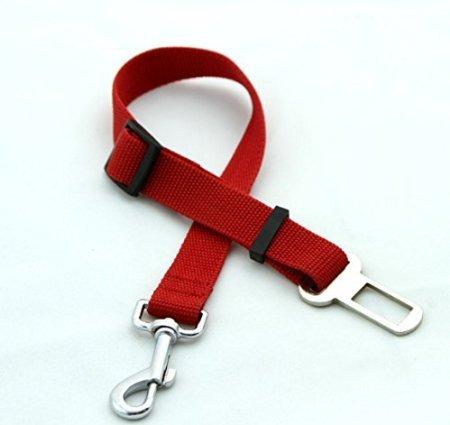 Rojo Perro Cinturón de seguridad llevan arnés de s... Oferta