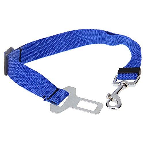 Correa Cinturon de Seguridad Coche Azul para Perro... Saldo