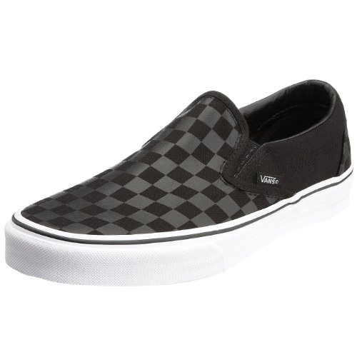 Mocasines, unisex, color negro (checkerboard), talla 44 con descuento