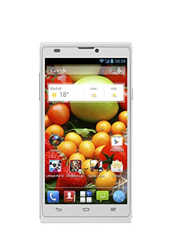 Smartphone libre Android (pantalla 5 , cámara 5 Mp, 4 GB, Quad Core 1.