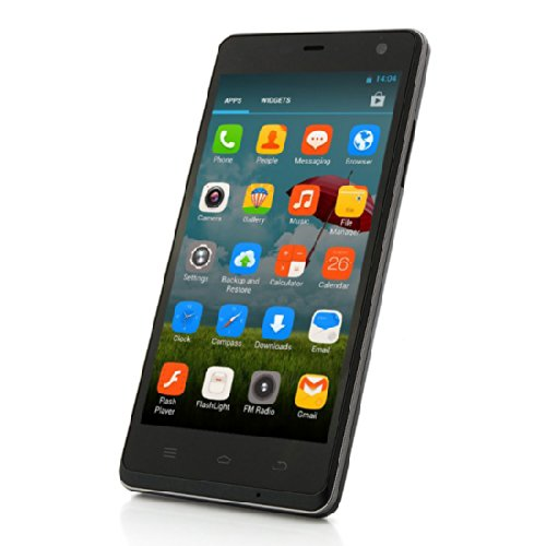 Smartphone libre Android (pantalla 5 , cámara 8 Mp, 4 GB, Quad Core 1.