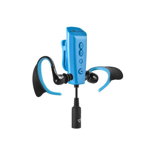Reproductor de MP3 acuático (4 GB) azul