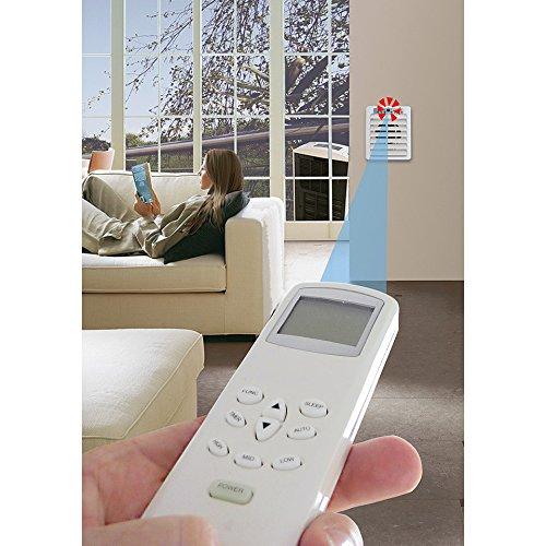 Sistema de aire acondicionado y calefacción con control remoto para Tr