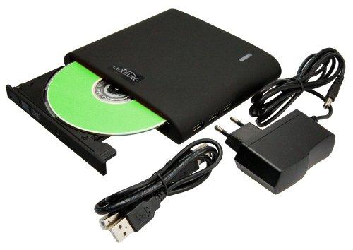 Luxburg  5en1 unidad DVD RW externa multifuncional... Ocasión