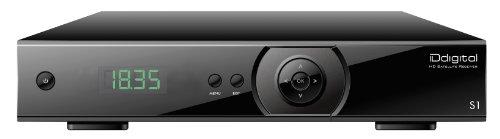 Receptor de TV digital HD por satélite con 2 mandos a distancia (HDMI,