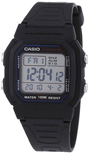 Casio W 800H 1AVES: Reloj digital con correa de go..