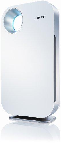 Purificador de aire con filtro HEPA, color blanco. Oferta
