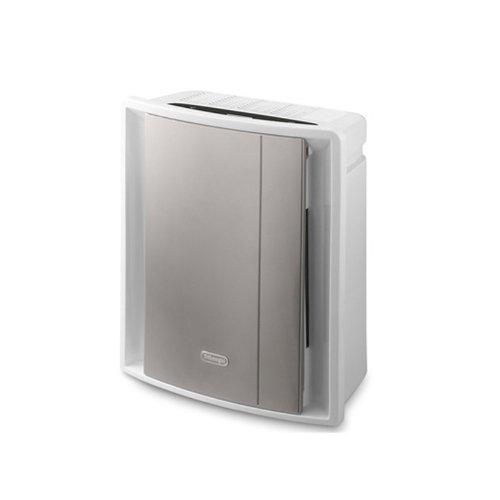 Purificador de aire, color plateado, material plástico, potencia 80 W