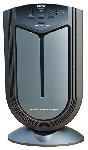 Purificador de aire 9 en 1, color negro. Oferta