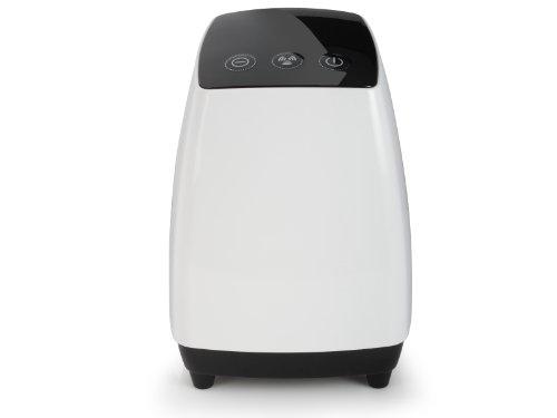 Purificador de aire (Negro, Color blanco, 1,1 kg, HEPA/Carbon)