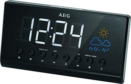 AEG MRC 4141 Radio Reloj con proyección de la hora. Oferta