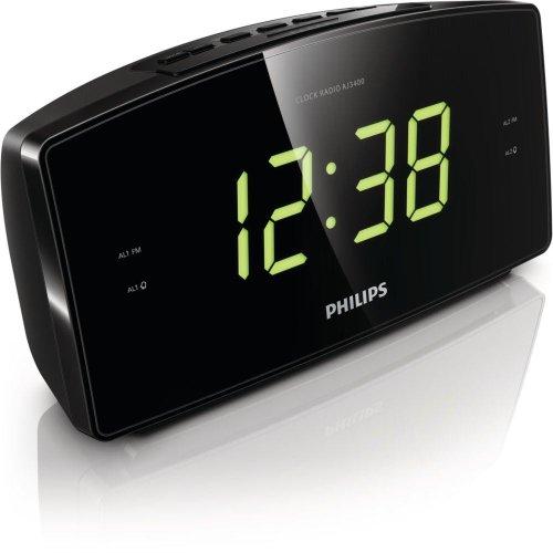 Radiodespertador (FM/AM), negro con descuento