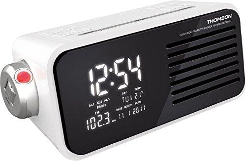 Radio despertador con proyector. Oferta