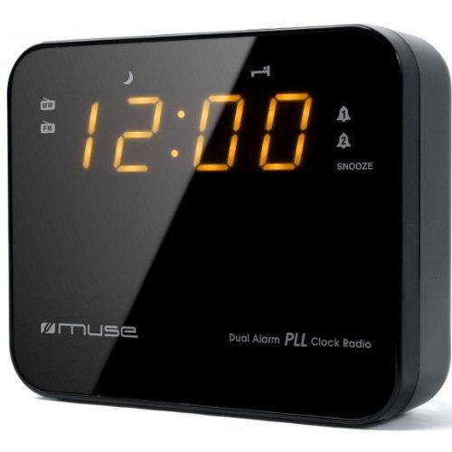 Radio despertador PLL FM, doble alarma [Importado de Francia]. Ocasión