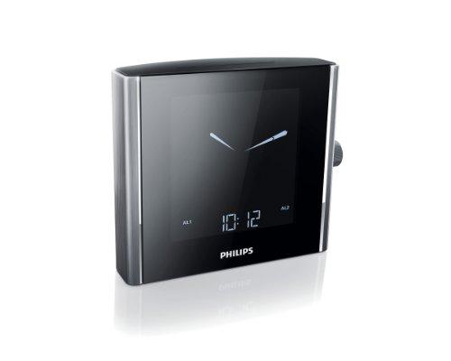 Radio despertador con sintonizador digital (aluminio) (importado)