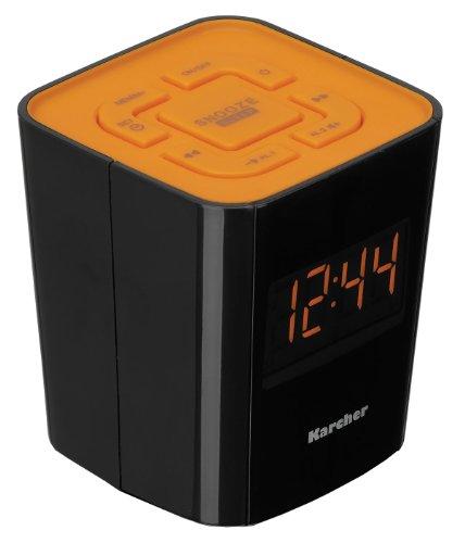 Despertador con radio (PLL FM, alarma doble) (importado)