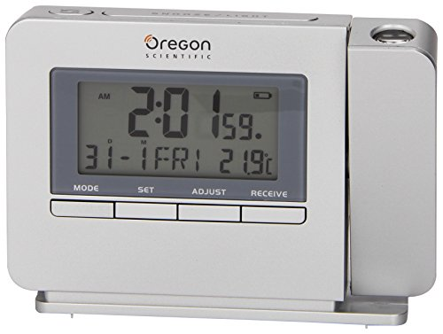 Reloj despertador (proyector, temperatura interior, alarma y snoozer),
