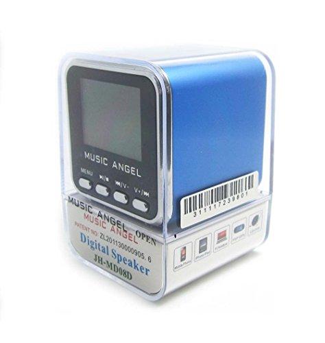 Minirreproductor portátil (diseño de cubo, sonido estéreo, incluye alt