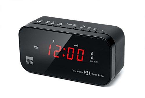 Nuevo Uno CRI20 Radio reloj FM / PLL dual Alarma