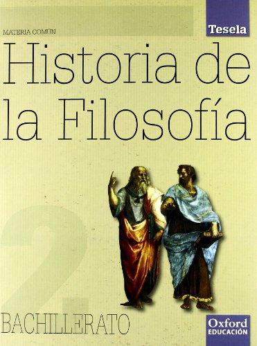 Filosofía 2º Bachillerato Tesela. Pack (Libro del ..