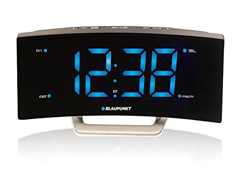 Reloj Radio despertador (FM digital, alarma, función Snooze, Pantalla