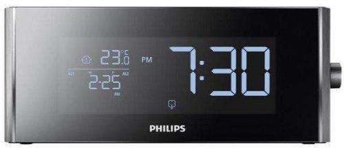 Radio despertador con sintonizador digital [Importado de Francia]