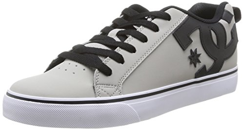 Zapatillas bajas para hombre, color gris / negro, talla 43 L con descu