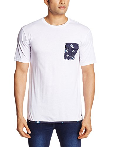 Camiseta de punto para hombre, color blanco, talla S. Ocasión