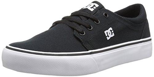 Zapatillas de deporte de canvas para niño, color negro Noir (Black/Whi
