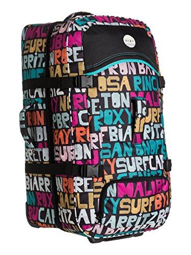 Maleta, color multicolor (typo is everywhere combo black), talla 78 x
