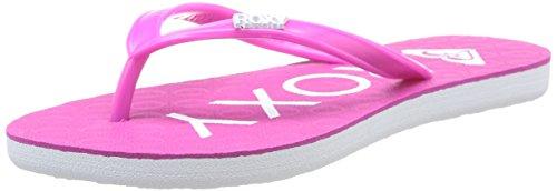 Sandalias para niña, color morado, talla 34 con descuento