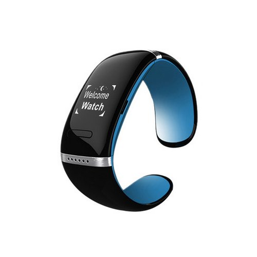 Blue  Black L12S Wearables Smart Wristband Bracele... Ocasión