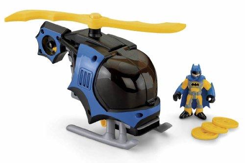 Helicóptero con figura de Batman. Saldo