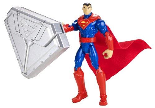Figura básica Steel Shield Superman (Mattel BHC73) con descuento