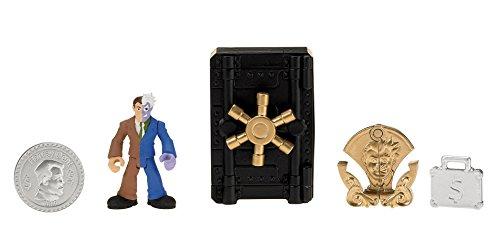 Figura de Dos Caras con caja fuerte. Oferta
