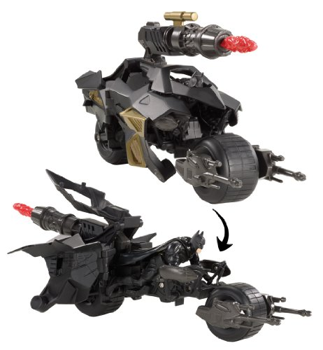 Batmoto Transformable (Mattel). Saldo